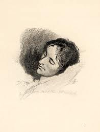 John Keats on his death bed