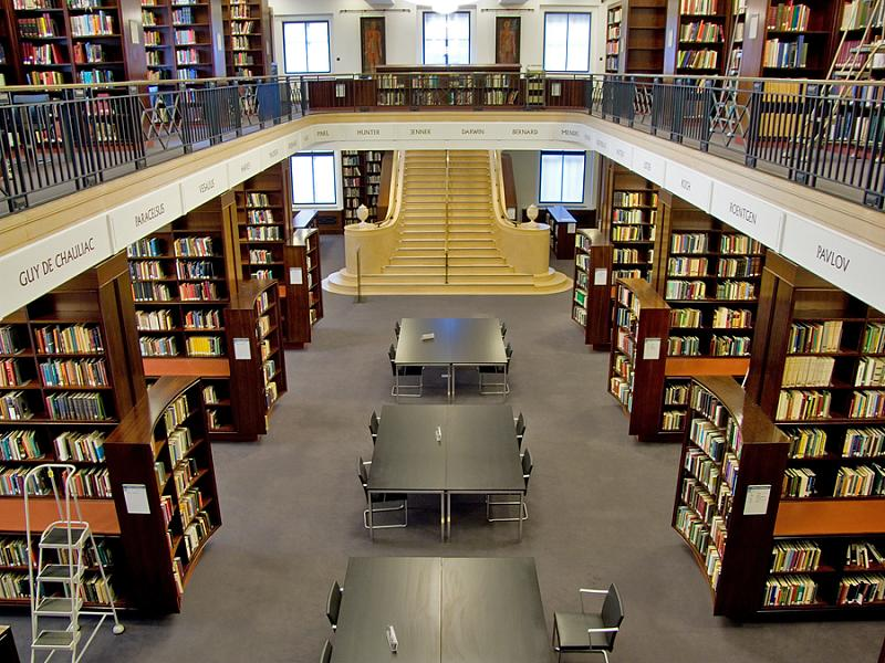 Beogradske biblioteke, čitaonice i druga mesta za čitanje Reading-room-wellcome-library-london
