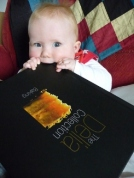 Baby-chewing-book