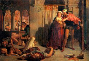 The Flight of Madeline & Porphyro - Holman Hunt