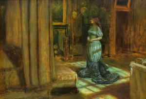 The Eve of St Agnes - Millais