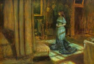 The Eve of St Agnes - Millais