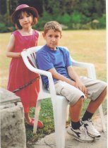 Evie & James in 2000