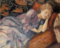 Sleeep by George Lemmen 1905