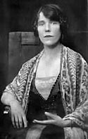 Spiritualist medium Mrs Osborne Leonard, who worked with Sir Arthur Conan Doyle & Sir Oliver Lodge