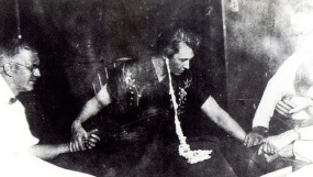 Mina Crandon  known as Margery) one of the most controversial mediums of the 1920s